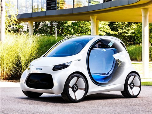 Новость про Smart - Smart Vision EQ ForTwo Concept 2017
