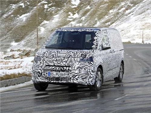 Обнаружен новый Volkswagen Transporter