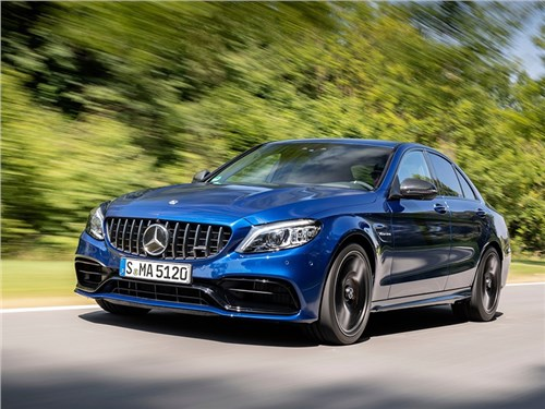 Новость про Mercedes-Benz C-Class AMG - Mercedes-Benz C63 S AMG Sedan 2019