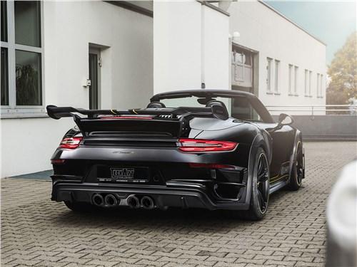 Techart | Porsche 911 Turbo Cabriolet вид сзади