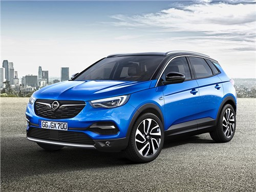 Новость про Opel Grandland X - Opel Grandland X 2018