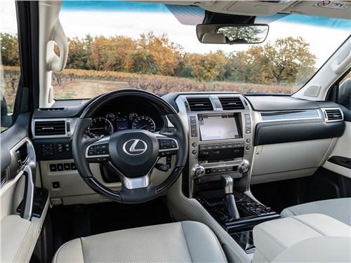 Lexus GX 2020 салон
