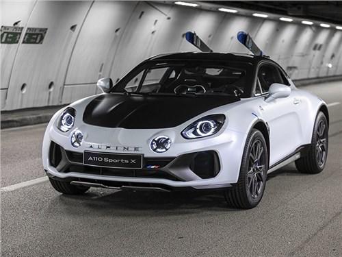 Новость про Alpine - Alpine A110 SportsX Concept 2020