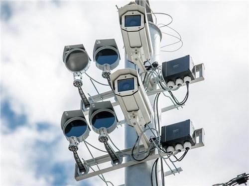 В Москве увеличилось число дорожных камер