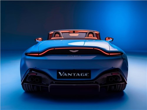 Предпросмотр aston martin vantage roadster 2021 вид сзади