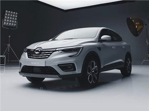 Renault Arkana превратили в Samsung