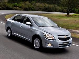 До конца июля Chevrolet объявляет скидку на седан Cobalt