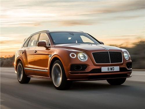 У Bentley Bentayga может появиться версия кабриолет