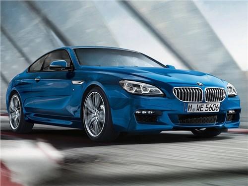 BMW 6 серии начинает срывать с себя стоп-сигналы