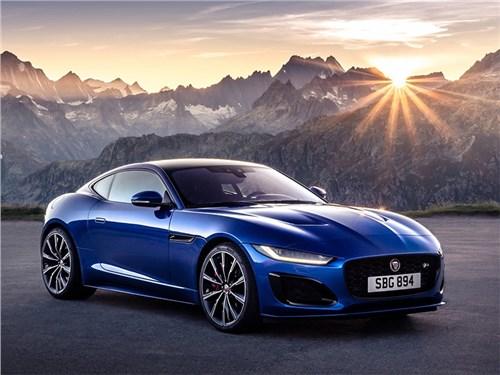 В России начались продажи обновленного Jaguar F-Type