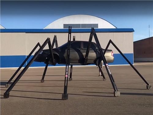Lada Priora превратилась в паука