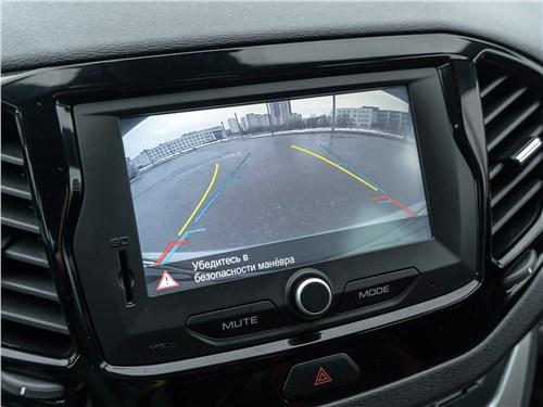 Lada Vesta Sport 2019 монитор