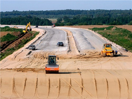 Началось строительство автодороги М-12 от Москвы до Казани