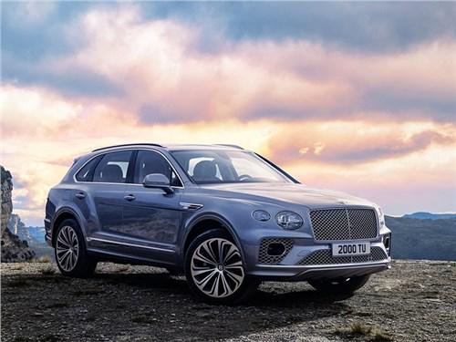 Новость про Bentley Bentayga - Bentley Bentayga (2021)