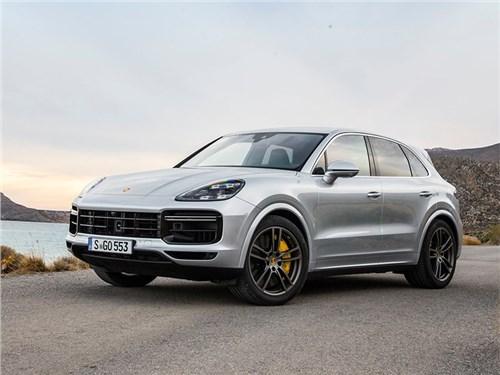 Новость про Porsche Cayenne Turbo - Porsche Cayenne Turbo (2018)