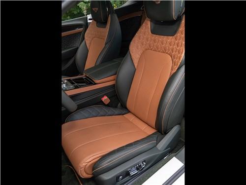 Предпросмотр bentley continental gt v8 (2020) передние кресла
