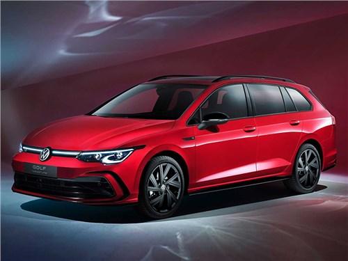 Новость про Volkswagen Golf - Volkswagen Golf Variant R-Line (2021)