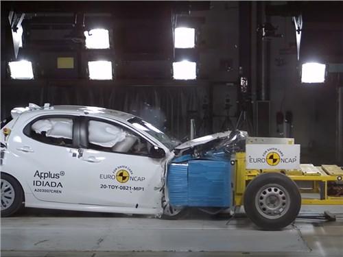 Новость про Toyota Yaris - В EuroNCAP опробовали новые методики краш-тестов