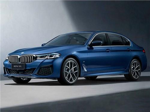 Обновленный седан BMW 5-Series получил версию «лонг»