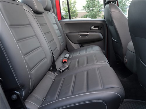 Volkswagen Amarok Aventura (2020) задний диван