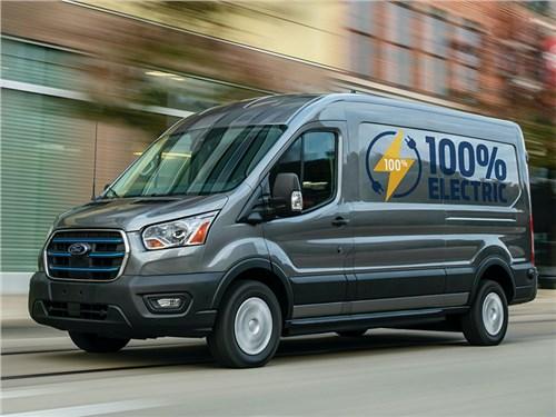 Представлен электрический Ford E-Transit