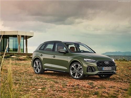 Раскрыты сроки премьеры Audi Q5 e-tron и Porsche Macan EV