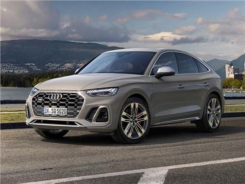 Новость про Audi SQ5 - Audi SQ5 Sportback TDI (2021)