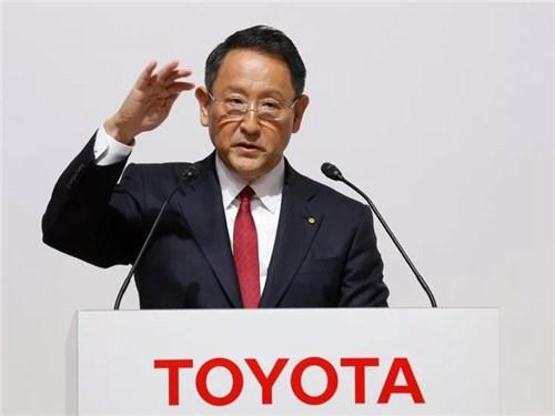 Новость про Toyota - Акио Тоёда