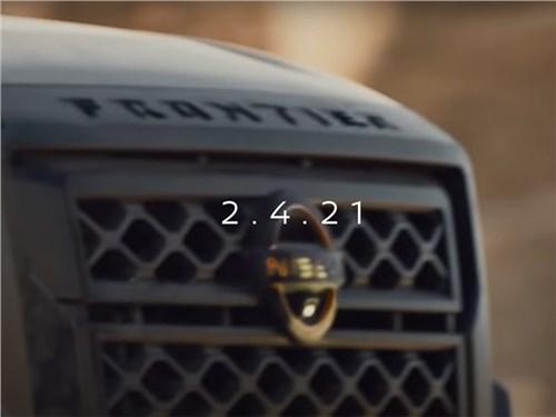 Nissan показал новый Frontier