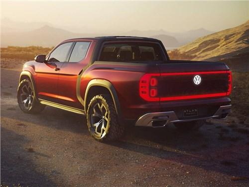 Volkswagen готовится представить электрический пикап