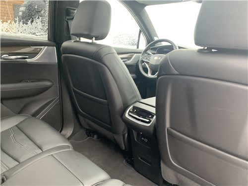 Cadillac XT6 (2020) второй ряд