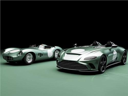 Aston Martin отдал дань уважения своему первому спорткару