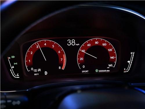 Предпросмотр honda civic sedan (2022) приборная панель
