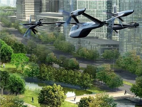 Новость про Hyundai - Hyundai готовится к запуску летающих таки в аэропортах