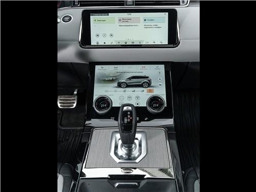 Land Rover Range Rover Evoque (2020) центральная консоль