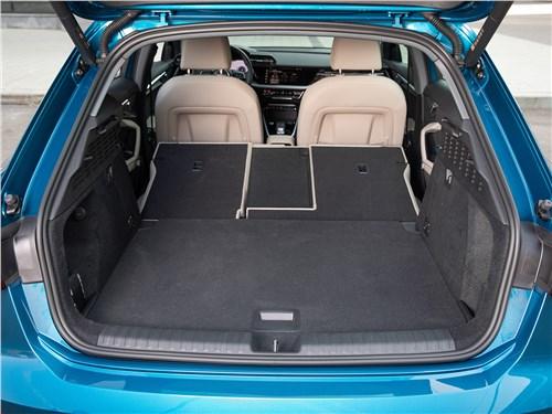 Audi A3 (2021) багажное отделение