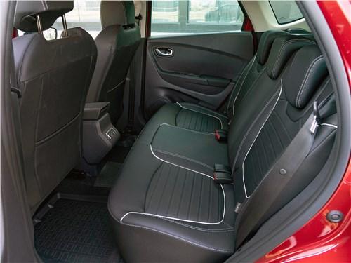 Renault Kaptur (2020) задний диван