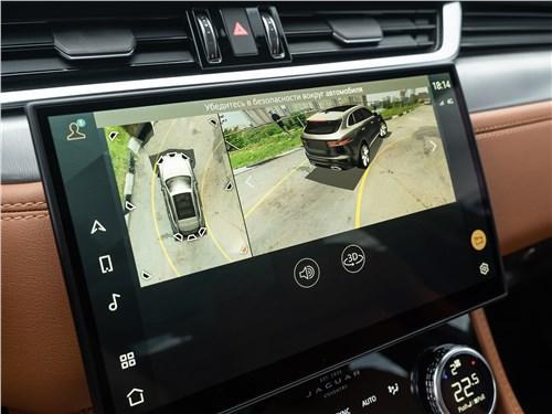 Предпросмотр jaguar f-pace (2021) монитор