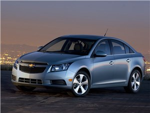 General Motors отзывает почти триста тысяч Chevrolet Cruze
