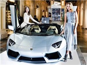 Компания Lamborghini продемонстрировала в Москве новый суперкар