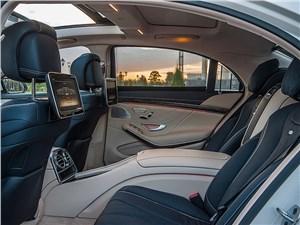 Предпросмотр mercedes-benz s-klasse 2013 задние кресла