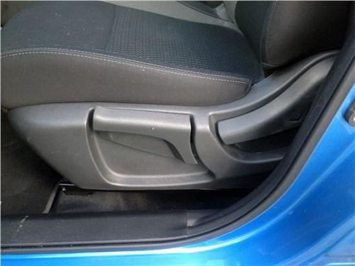 Nissan Qashqai 2018 передние кресла