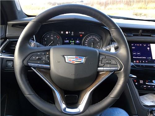 Cadillac XT6 2020 руль