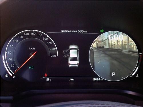 Kia K900 2019 приборная панель