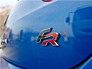 SEAT Leon FR 2012 шильдик