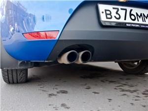 SEAT Leon FR 2012 выхлопная труба