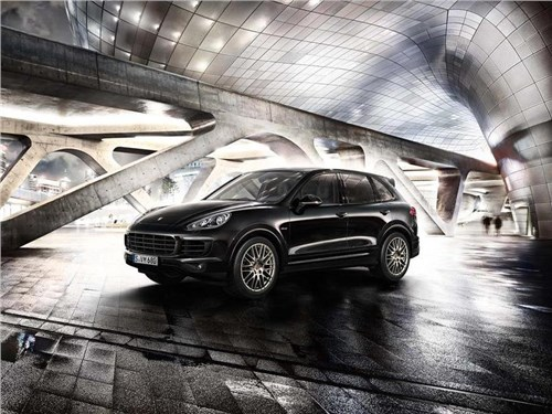 «Платиновая» версия Porsche Cayenne вышла на российский рынок