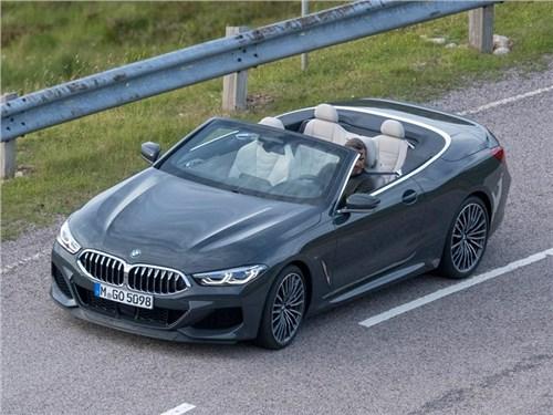 Рассекречен кабриолет BMW 8-й серии