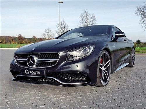G-Power | Mersedes-AMG S 63 Coupe вид спереди