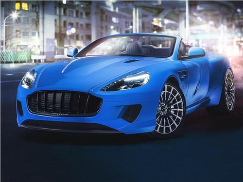 Kahn Design | Aston Martin DB9 Volante вид спереди